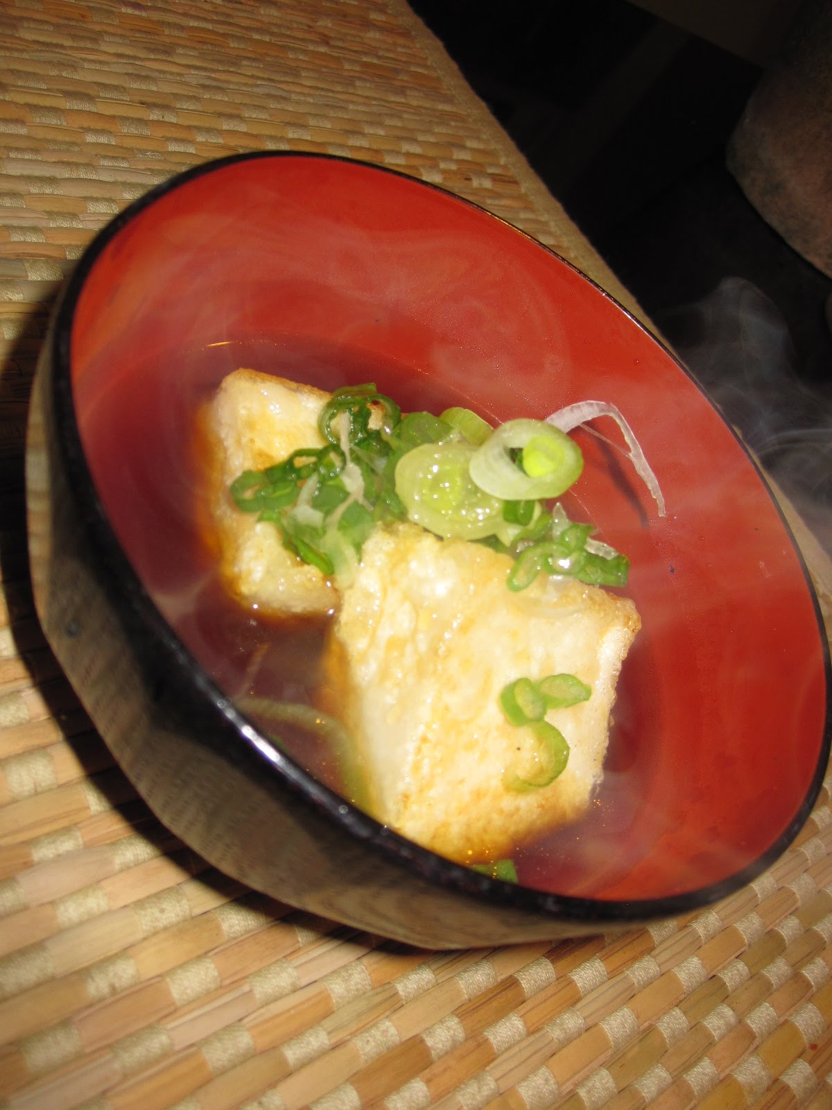 Agedashi tofu is common tofu dish served in dashi sauce. Many Japanese ...
