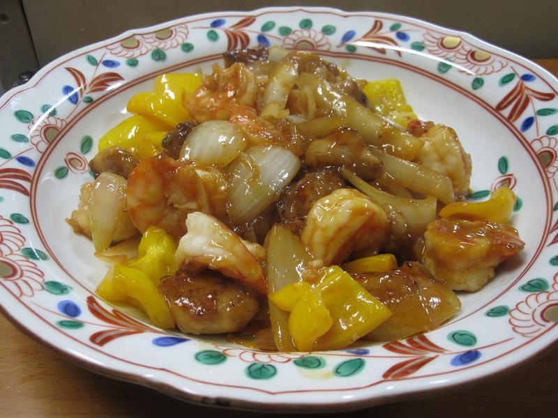 Chicken Shrimp Stir Fry W Ketchup Sauce Recipe Japanese Recipes