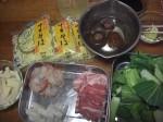 Gomokuyakisoba Ingredients