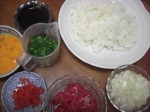 Beef Fried Rice Ingredients