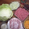 Cabbage Rolls Ingredients