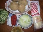 Mentaiko Potato Salad Ingredients