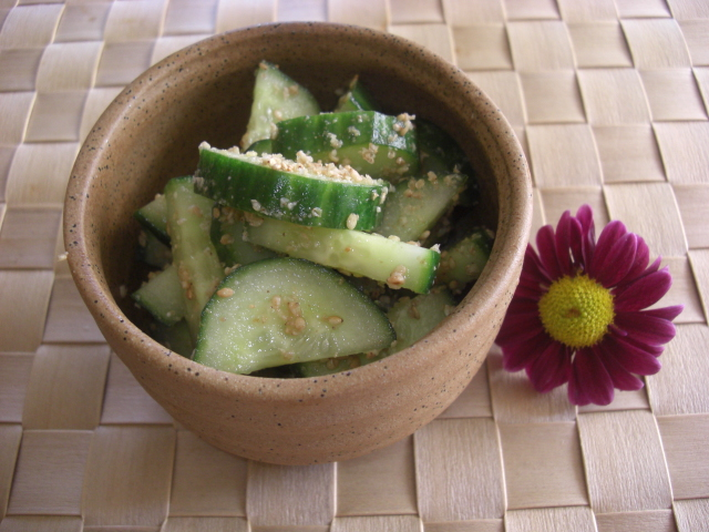 the japanese word for cucumber and goma is sesame japanese cucumbers ...