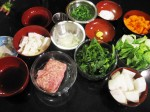 Chicken Meatball Udon Ingredients