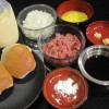 Teriyaki Burger Ingredients