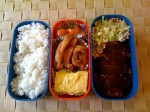 Simple Grilled Chicken Bento