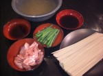 Chicken Soba Ingredients