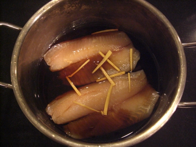 Boiled White Fish In Soy Sauce Recipe Japanese Recipes