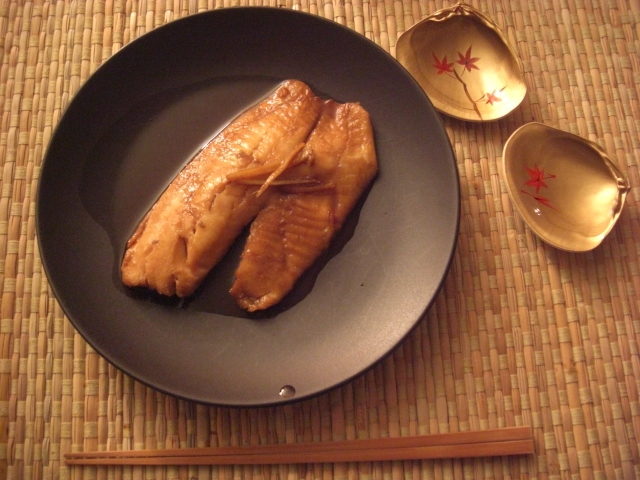 Boiled white fish in soy sauce recipe japanese recipes for Boiled fish recipe
