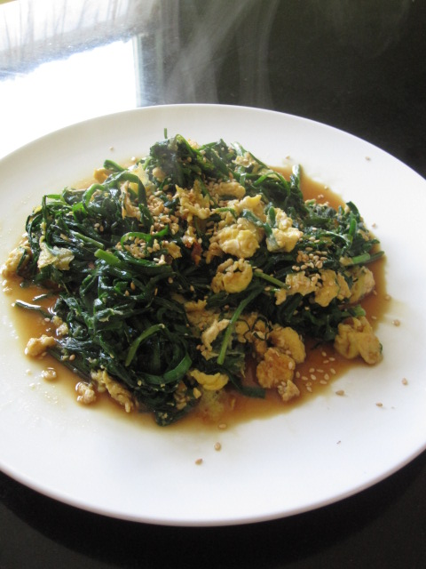 Niratama recipe japanese recipes japan food addict nira is a green vegetable called chives in english and tama means egg in japanese i used fresh organic nira that my teacher don grew in his back yard forumfinder Image collections